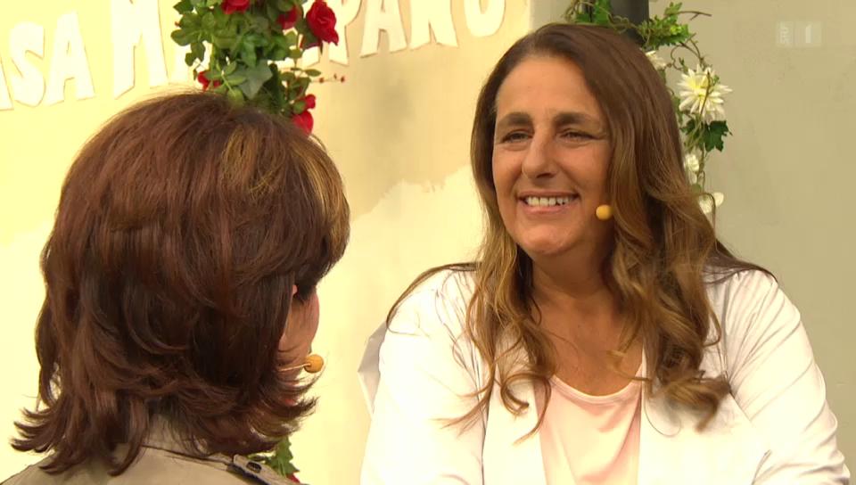 Jacqueline Badran im Gespräch mit Monika Fasnacht