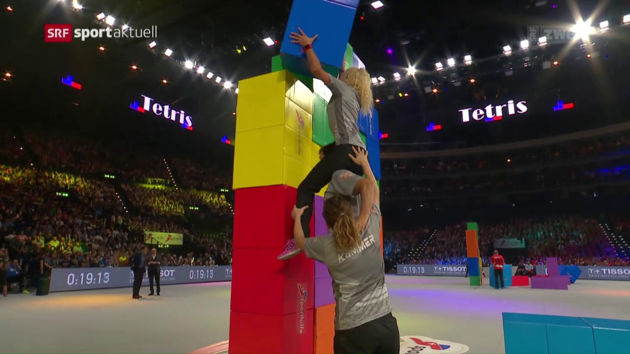 Superzehnkampf im Zürcher Hallenstadion