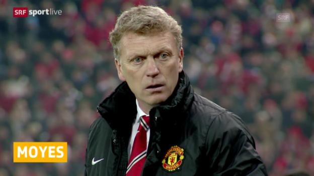 Video «Fussball: David Moyes nicht Coach von Manchester United» abspielen