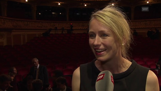 Video «Anna Thommen am ZFF 2013 ausgezeichnet» abspielen