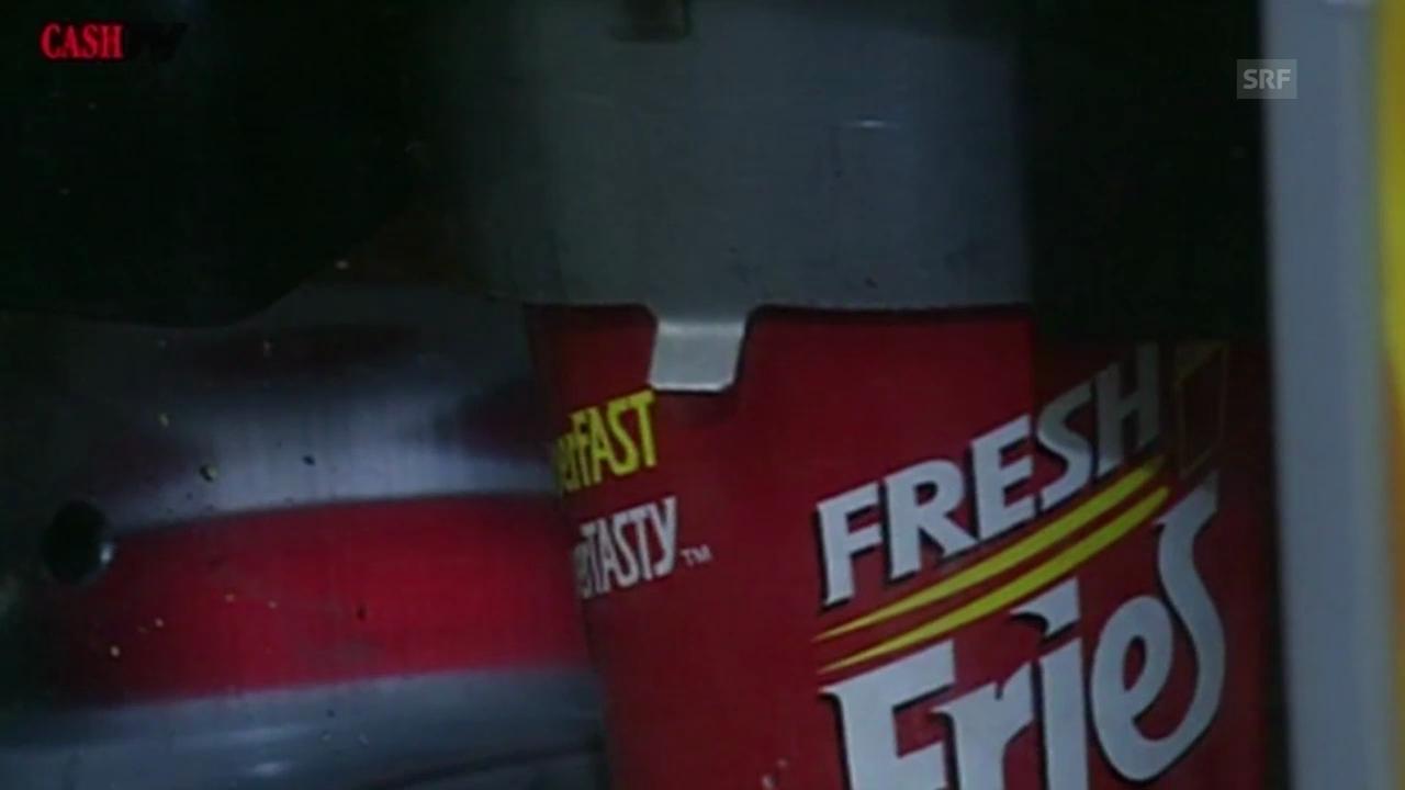 Wie ein Pommes-frites-Automat scheiterte (Cash-TV vom 6.12.1997)