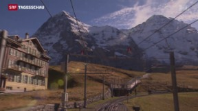 Video «Neue Jungfrau-Bahn nimmt konkrete Formen an» abspielen