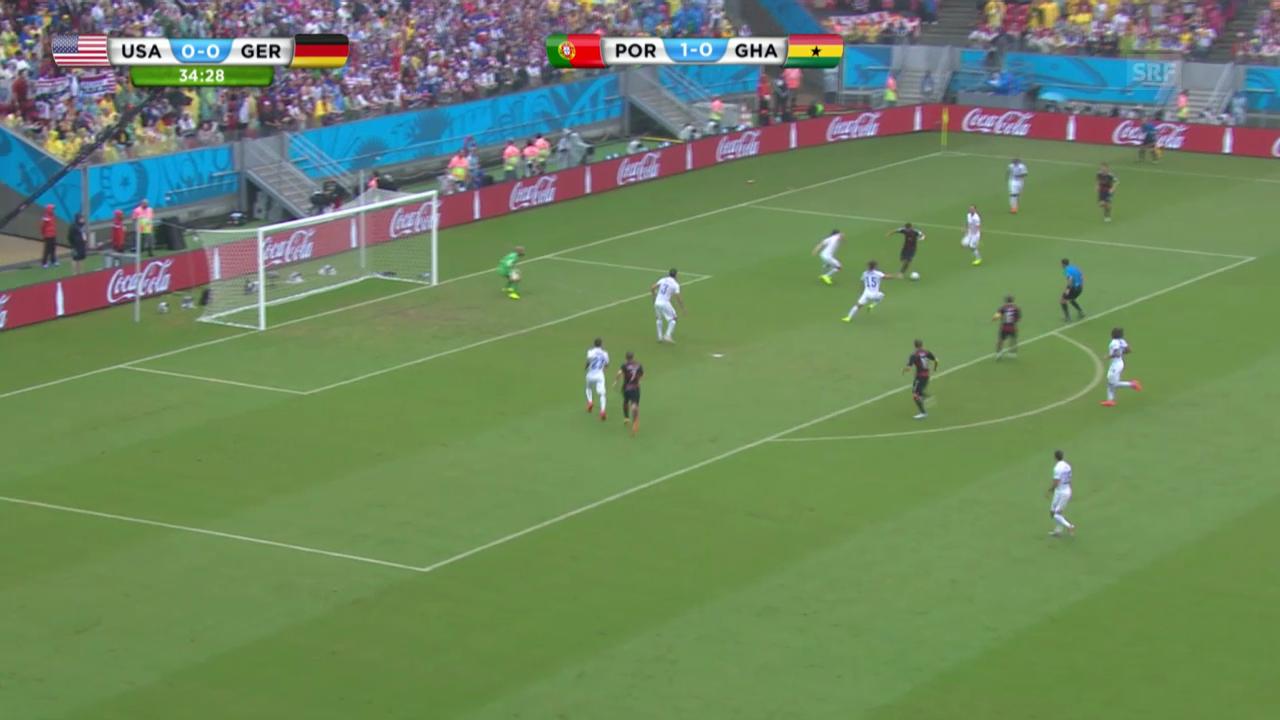 FIFA WM 2014: Deutschland - USA: Die Live-Highlights