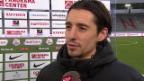 Video «Fussball: Super League, Thun - Zürich, Interview mit Nelson Ferreira» abspielen