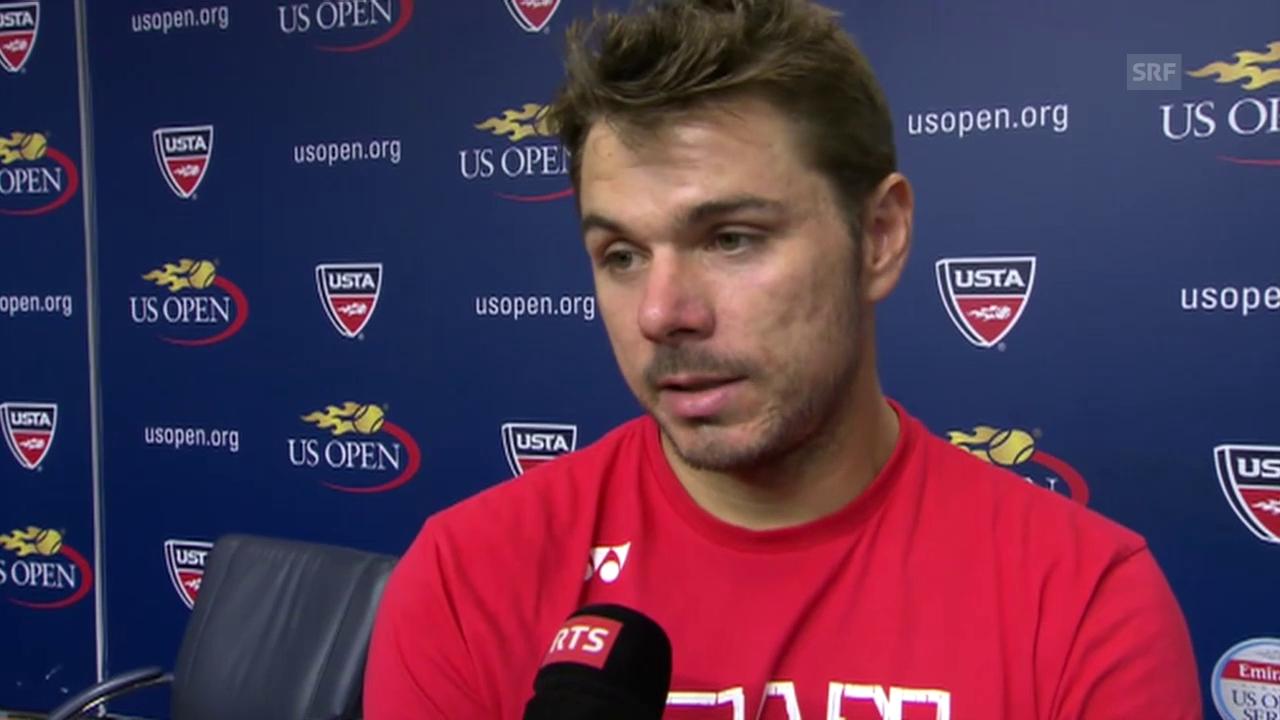 Tennis: US Open, Stan Wawrinka im Interview