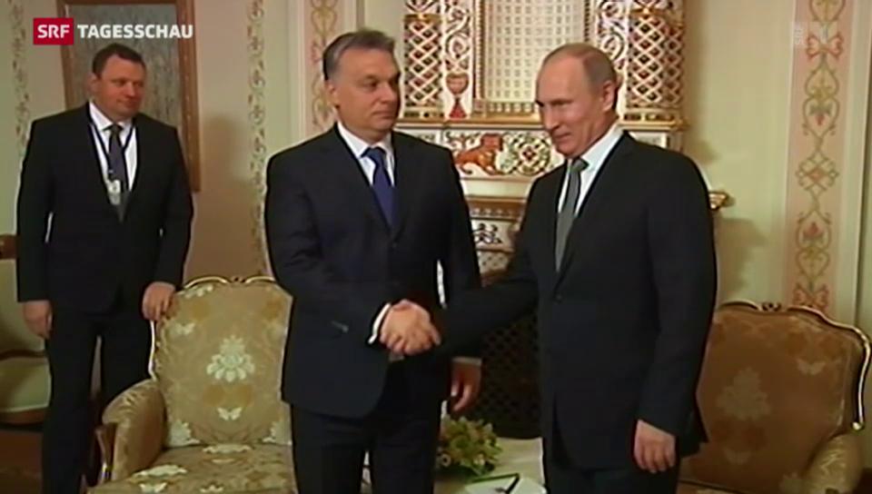 Orban und seine Nähe zu Putin