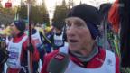 Video «Langlauf: Der älteste Teilnehmer am Engadin Skimarathon» abspielen