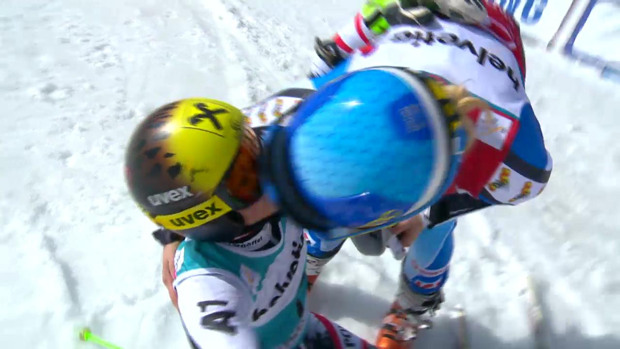 Ski Alpin: Riesenslalom auf der Lenzerheide, Der 2. Lauf von Anna Fenninger («sportlive», 16.03.2014)