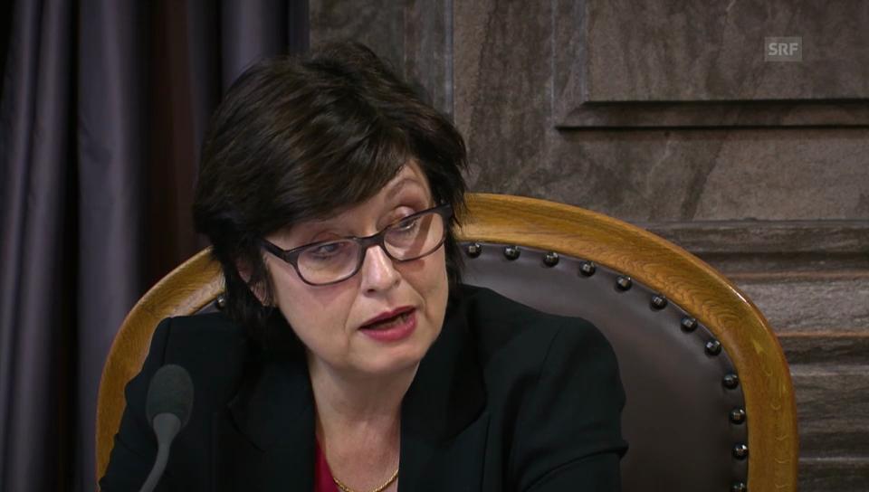 Anita Fetz: Ein Ja legt der SNB Goldfesseln an