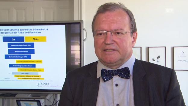 Video «Politologe Claude Longchamp zur Service Public-Diskussion» abspielen