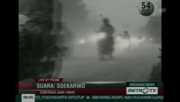 Video «Indonesier auf der Flucht (unkommentiert)» abspielen