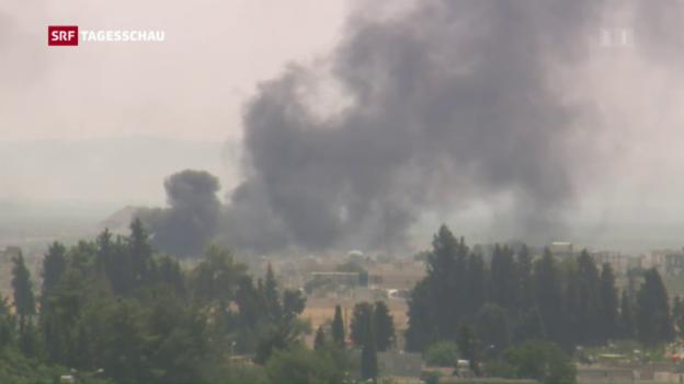 Video «Türkische Panzer in Syrien» abspielen