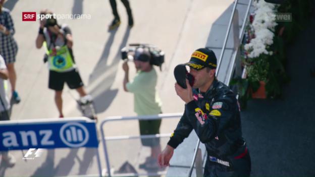 Video «Red Bull und Rosberg jubeln in Malaysia» abspielen