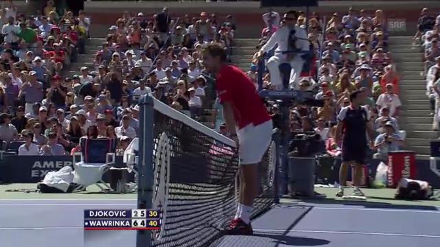 Highlights Djokovic - Wawrinka («sportaktuell»)