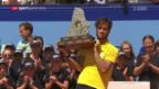Video «10 Jahre danach: Lopez gewinnt in Gstaad» abspielen
