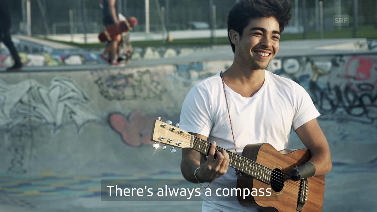 Alejandro Reyes mit «Compass»