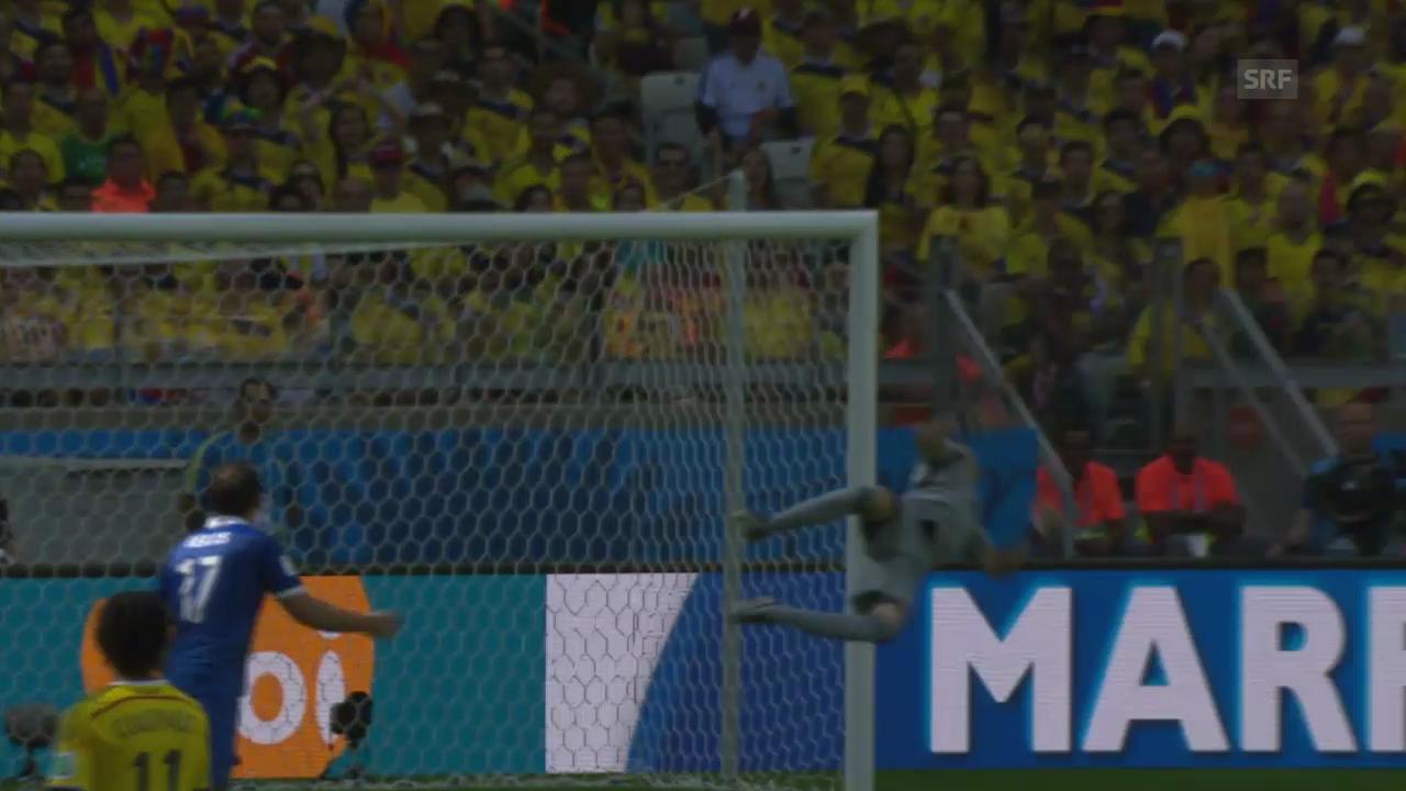 Parade von David Ospina an der WM