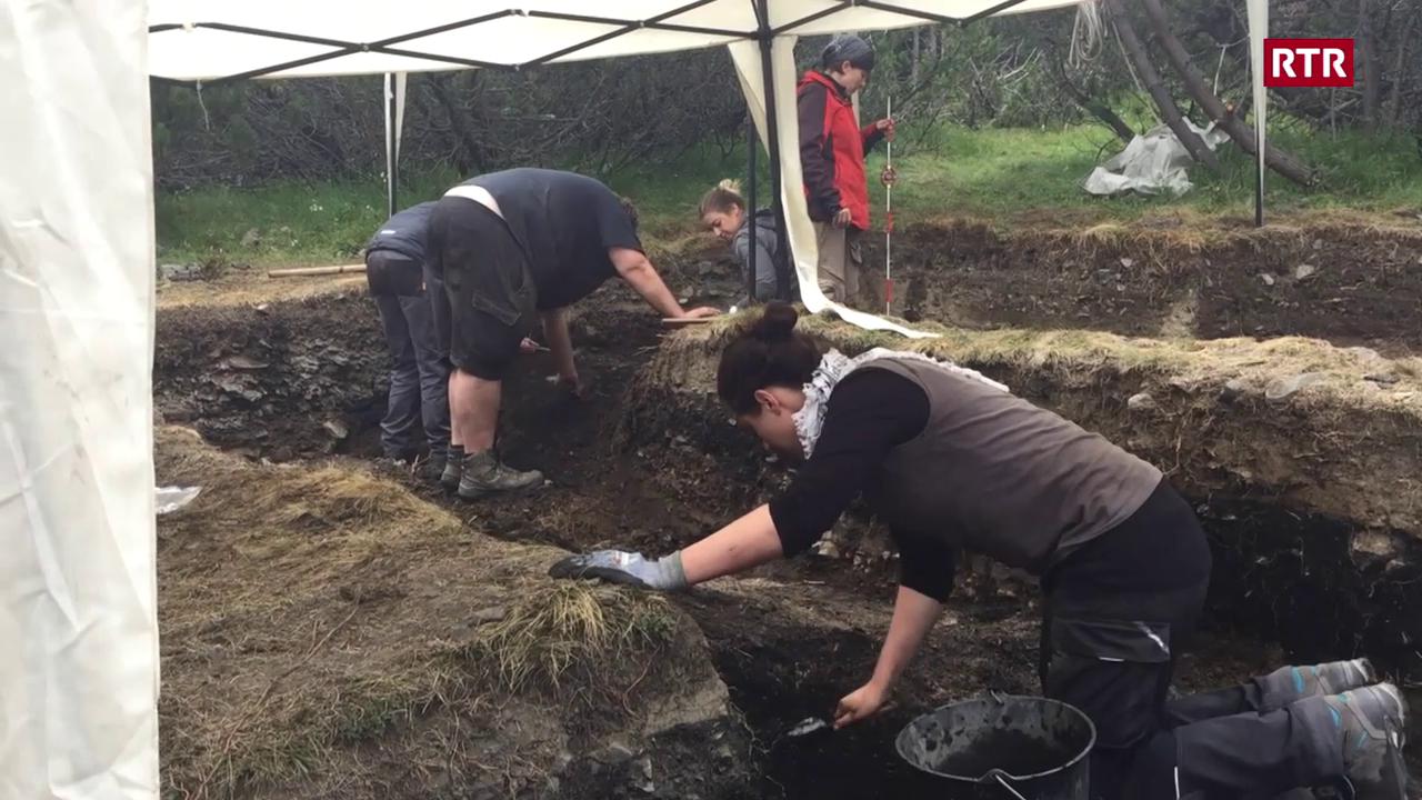 Archeologs en il Surses