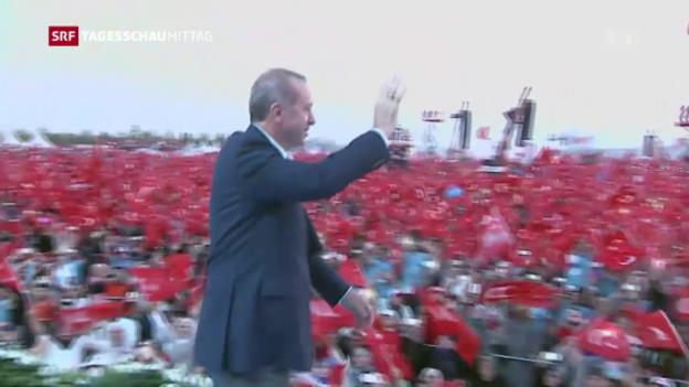 Video «Erdogans Rede: Rundumschlag gegen den Westen» abspielen