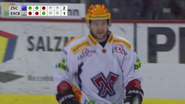Video «Eishockey: ZSC-Biel, Bieler Tore im Penaltyschiessen» abspielen