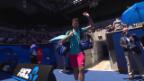Video «Die Live-Highlights bei Wawrinka gegen Johnson» abspielen