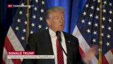 Video «Donald Trump skizziert seine Aussenpolitik als Präsident» abspielen