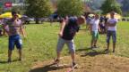 Video «Neue Staffel «Urchige Schweizer Sportarten» – Stäckä mättlä» abspielen