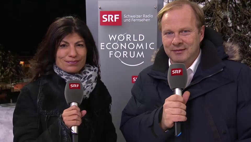 Vorschau auf den zweiten Tag in Davos