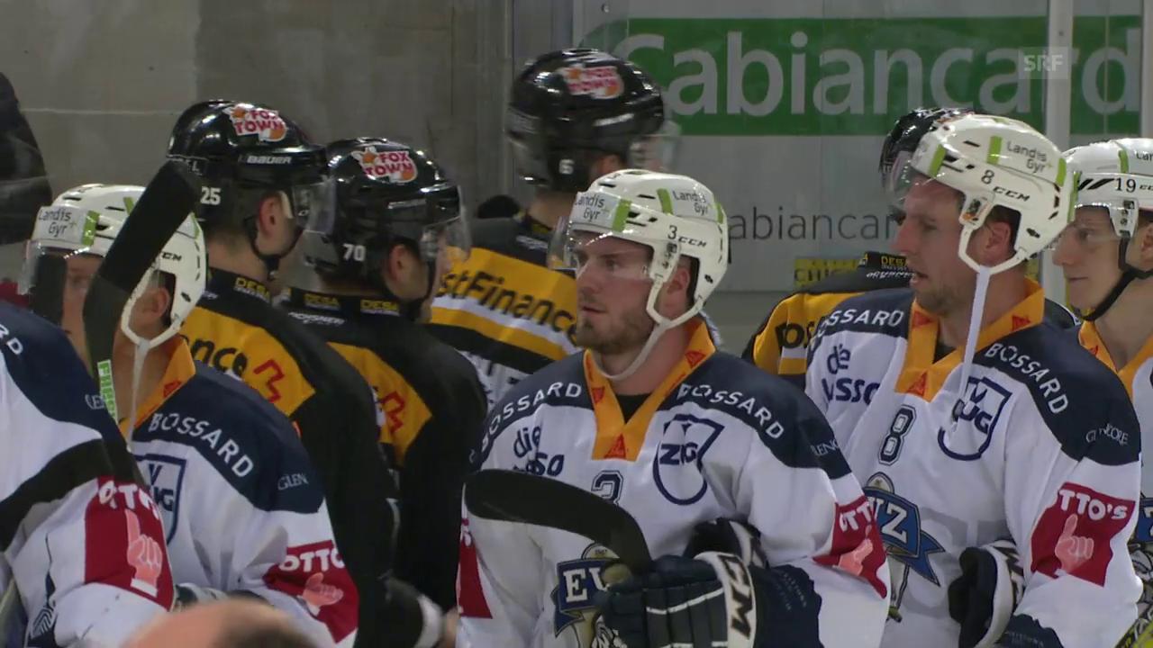 Zug gewinnt in Lugano und feiert 4. Sieg in Serie