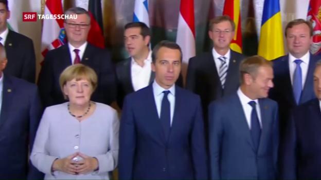 Video «Flüchtlingsgipfel: EU will Aussengrenzen sichern» abspielen