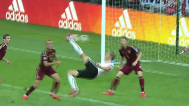 Video «Fussball: EM-Quali, Russland - Österreich, Tor Janko» abspielen