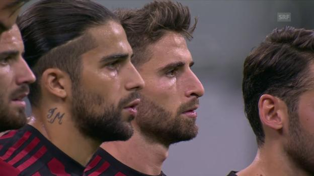Video «Rodriguez möchte in Mailand durchstarten» abspielen