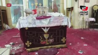 Video «Zwei Anschläge gegen ägyptische Kopten» abspielen