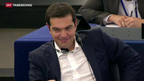 Video «Athen erbittet neues Hilfspaket» abspielen