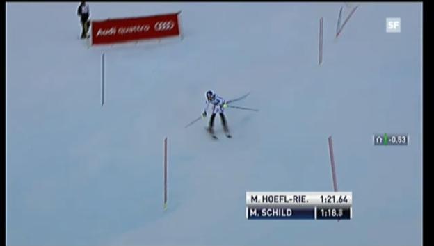 Video «Ski: Slalom, 2. Lauf Marlies Schild («sportlive»)» abspielen