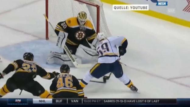 Video «Eishockey: NHL, Boston-Nashville» abspielen
