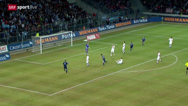 Video «Fussball: Testspiel Schweiz - Argentinien 2012» abspielen