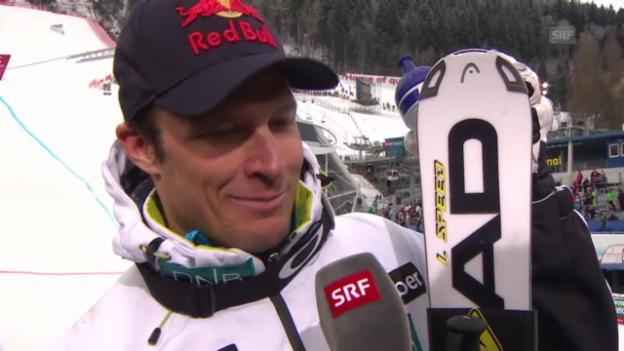 Video «Ski-WM: Interview mit Aksel Svindal» abspielen