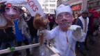 Video «Güdismontag im fasnächtlichen Luzern» abspielen
