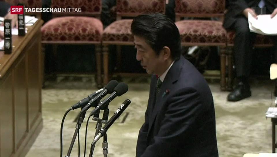 Japans Regierungschef ruft Neuwahlen aus