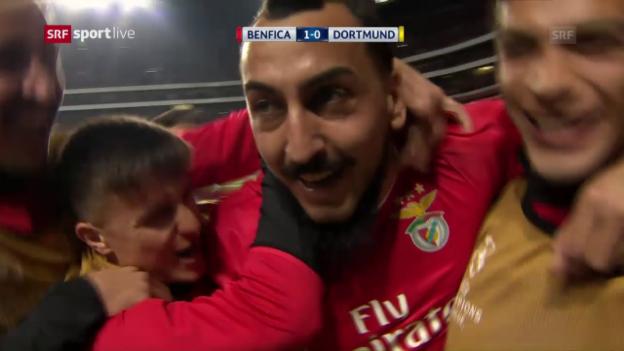 Video «Benfica lässt Dortmund verzweifeln» abspielen