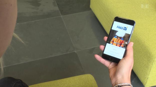 Video «Mit App zum Rauchstopp» abspielen