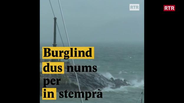 Laschar ir video «Burglind/Eleanore - Dus nums per in stemprà»