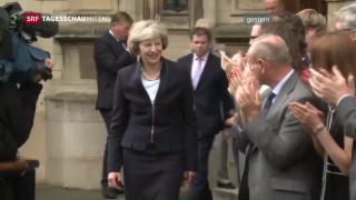 Video «Zweite Premierministerin in der Geschichte Grossbritanniens» abspielen