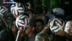 Video «WM-Ball in Rio vorgestellt» abspielen