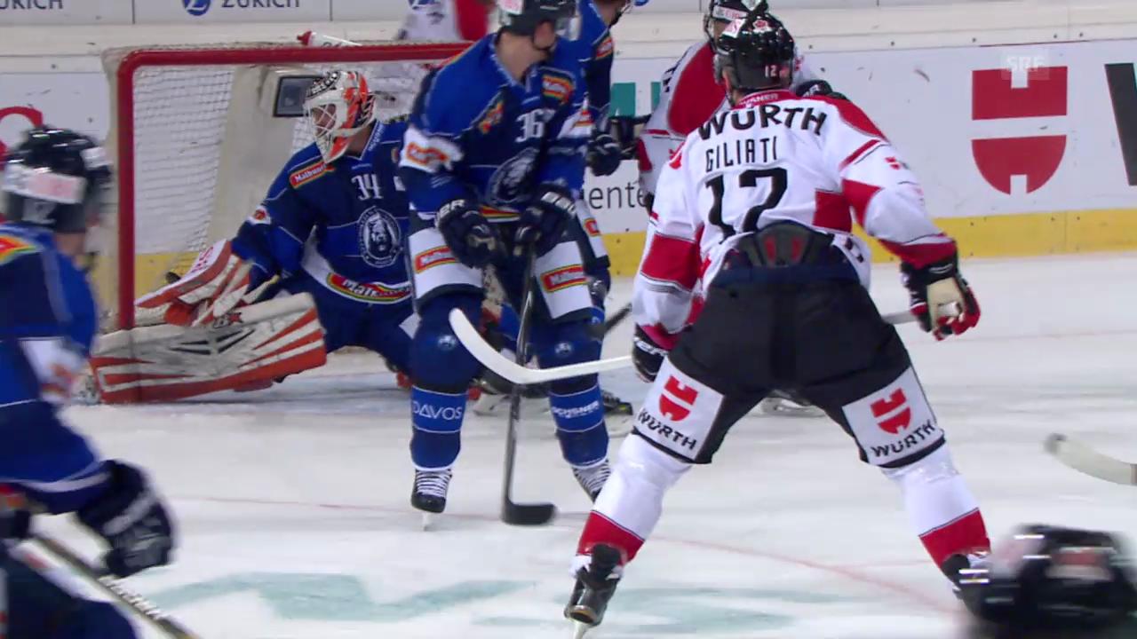 Eishockey: Spengler Cup, die Tore bei Canada - Zagreb