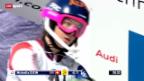 Video «Ski: Frauen-Nachtslalom in Flachau» abspielen