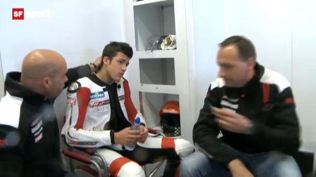 Jesko Raffin – von der Schulbank auf die Moto2-Rennstrecke