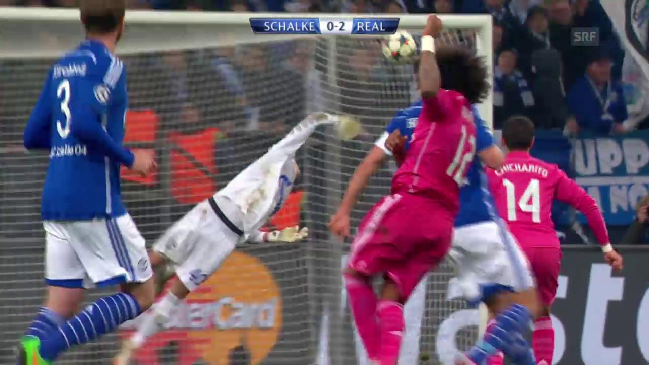 Fussball: Champions League, Achtelfinals, Schalke 04 - Real Madrid