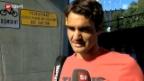 Video «Roger Federer und Stanislas Wawrinka im Interview» abspielen